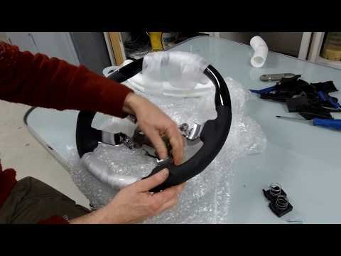 Step by step guide to upgrading the steering wheel on Range Rover L322