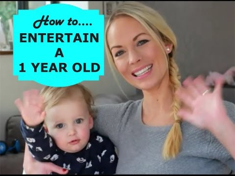 HOW TO ENTERTAIN A 1 YEAR OLD | EMILY NORRIS