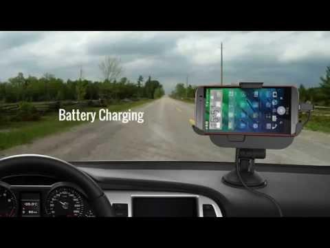 Kidigi Car Mount Charging Cradle Holder Dock for HTC One M8 2014