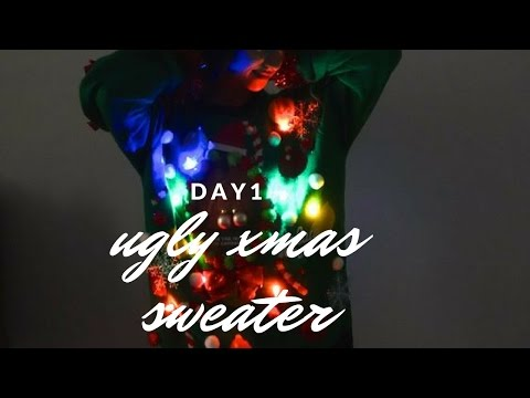 DIY Ugly Christmas Sweater | DAY 1