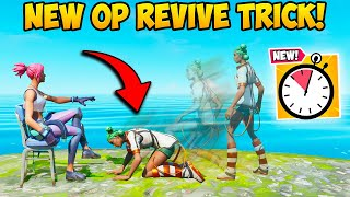 *NEW* SUPER FAST REVIVE TRICK!! - Fortnite Funny Fails and WTF Moments! #957