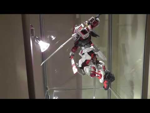Painted Gundam Astray Red Frame PG - Part 4 - Display Stand