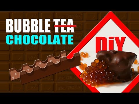 ▶DIY Coffee Bubble Chocolate you can make at home🍫
