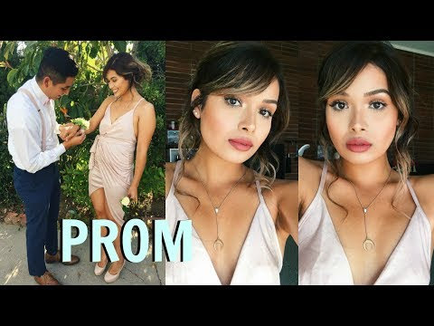 GET READY WITH ME: PROM 2017 - GRWM | ItsMandarin