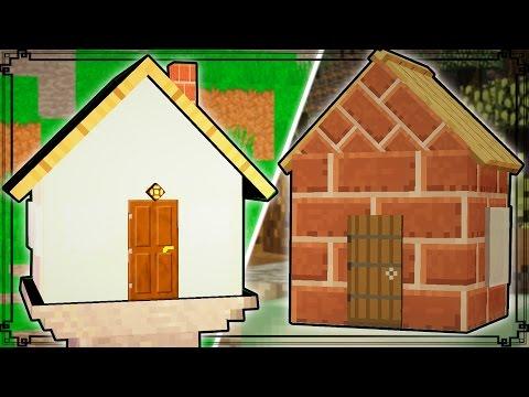 TINIEST MINECRAFT HOUSES!!