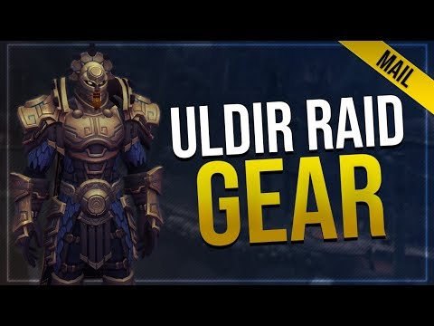 Uldir Raid Armor - Mail   In-game Preview   Battle for Azeroth!