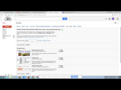 Gmail: Make Gmail Look Like Outlook
