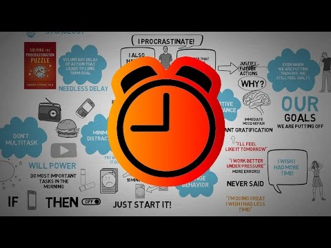 How to Stop Procrastinating - Solving The Procrastination Puzzle - Timothy Pychyl