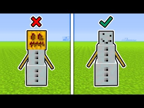 Minecraft : Top 5 SECRET Snow Goldem Tips And Tricks (Ps3/Xbox360/PS4/XboxOne/WiiU)