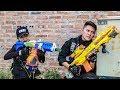 Nerf Guns War SWAT Men Of TTNerf Team Special Attack Ninja Super Boss XX Criminal Dangerous