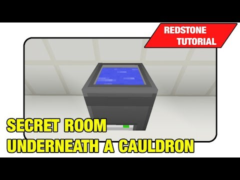 (Broken after TU19)Secret Room Underneath A Cauldron