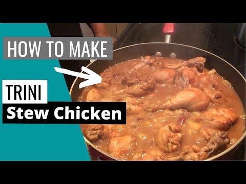 Trinidad Stew Chicken & Rice