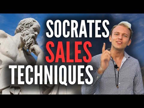 Socrates Sales Technique - Ask Questions Like This Ancient Philosopher