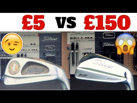 Cheap Vs Expensive: Golf Clubs (Irons)