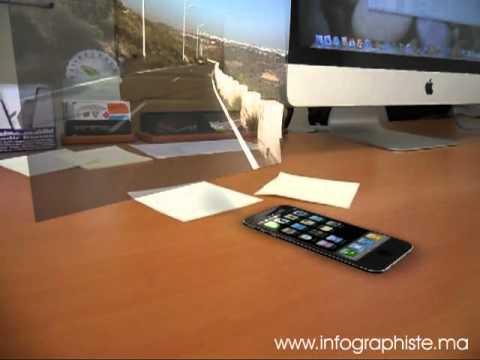 REAL HOLOGRAM -  iPhone 5 - iPhone 5G news - Hologram Apple