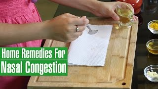3 Natural Home Remedies For Sinus Congestion Stuffy Nose