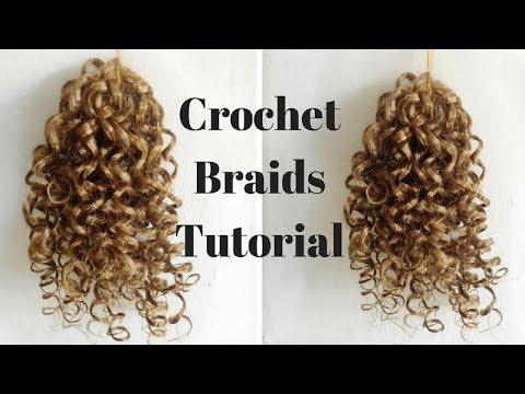 Crochet Braids Tutorial | How To Make Crochet Braiding Hair | GoldQueen Queency