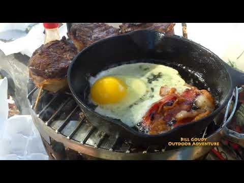 Breakfast - Deer Loin - Steak and Eggs