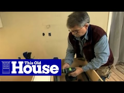 How to Install Kitchen Cabinets - This Old House