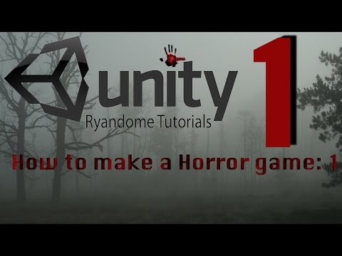 How to make a Horror Game Unity 3D.