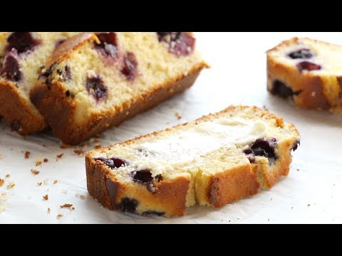 Springy Lemon Blueberry Bread