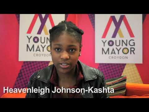 Croydon Young Mayor candidate - Heavenleigh Johnson Kashta