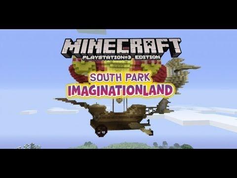 South Park Minecraft PS3 Imaginationland Ship