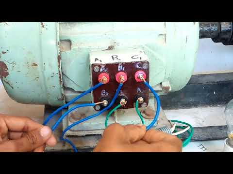 3 phase motor test in hindi