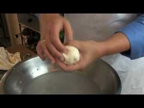 How to make fresh mozzarella cheese from curd