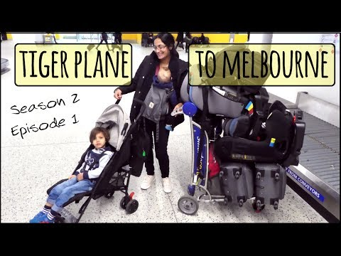 Tigerair Australia | Tiger Plane to Melbourne | Travel with Kids