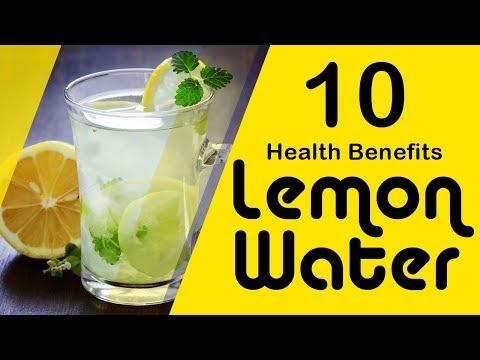 Top 10 Benefits of Lemon Water - Benefits to Drinking Warm Lemon Water - Detox your body Lemon Water
