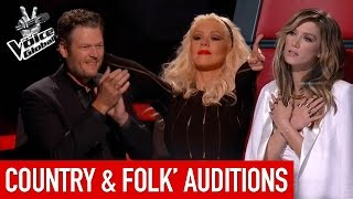 The Voice | Amazing Country & Folk