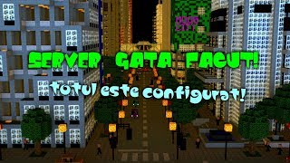 Server Minecraft Gata Facut BUNGEECORD | Link download in