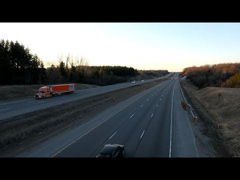 Canon G5X Video Footage | HWY 404 Toronto