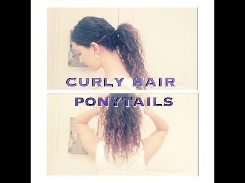 3 Ponytail Styles For Curly Hair