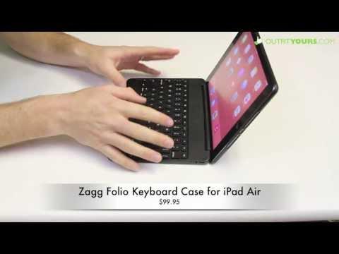 Zagg Folio iPad Air Keyboard Case Review