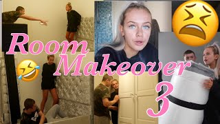 ROOM MAKEOVER 3 🥳 ~ moving around, building my bed & my dressing table disaster!!😤🤣💕