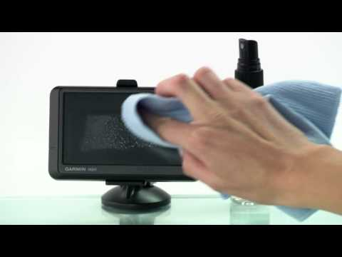 How to Clean GPS Touch Screens with eScreen