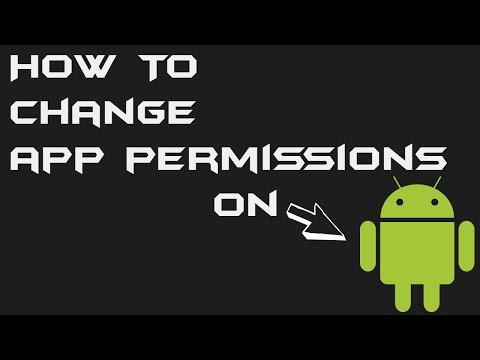 How To Change App Permissions In Android 4.2.x (Most JellyBean ROMs)