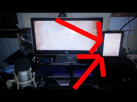 Use Windows Tablet/Laptop as Second Screen [ Dual-Display]