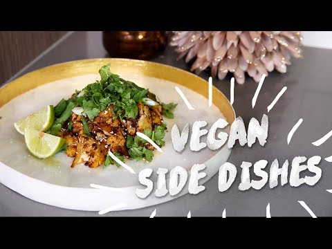 EASY VEGAN Side Dishes 👀 😍 | Karismas DAY 19