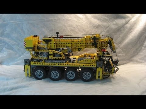 M4X's Creations - Building Lego Technic - 8421 Mobile Crane
