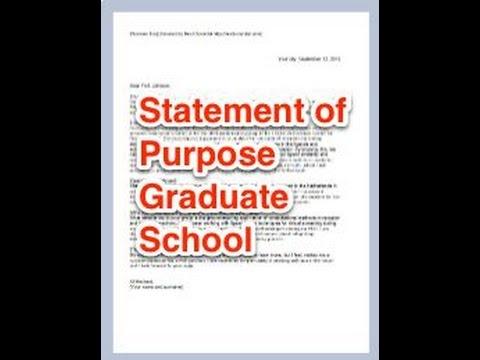 How to write a good grad school SOP