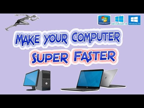 How to Make Your Computer Super Faster | Speed Up Your Pc Like New (Windows 7,8 and 10)