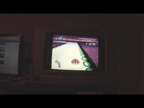 F-Zero SNES Silence casual time trial