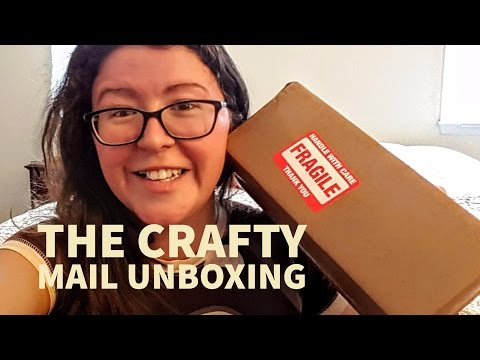 The Crafty Mail Subscription Unboxing | March 2017