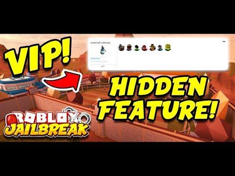 ROBLOX JAILBREAK NEW HIDDEN FEATURE!! (Works In Jailbreak VIP Servers!) + HUGE ANNOUNCEMENT!