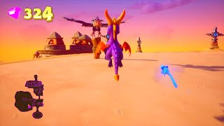 Spyro The Dragon (Reignited) 120% Guide MAGIC CRAFTERS (ALL