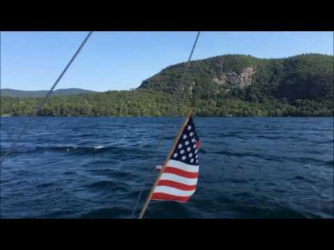 Full Lake George Sail and Back