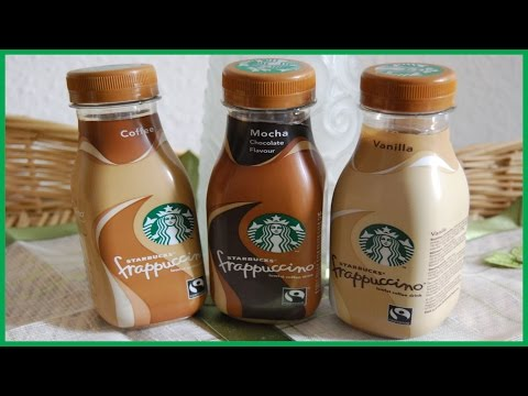 Starbucks Frappuccino Coffee Unboxing
